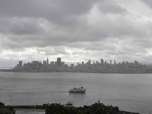 アルカトラズから見たサンフランシスコ.JPG