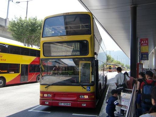 エアポートバスで香港市内へ.JPG