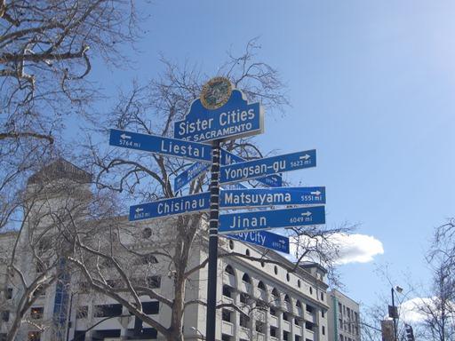 サクラメントの姉妹都市.JPG