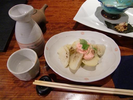 八仙とじゃが明太子バター.JPG
