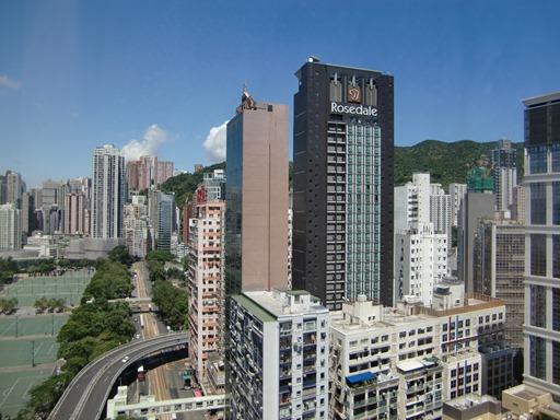 部屋から見る香港.JPG