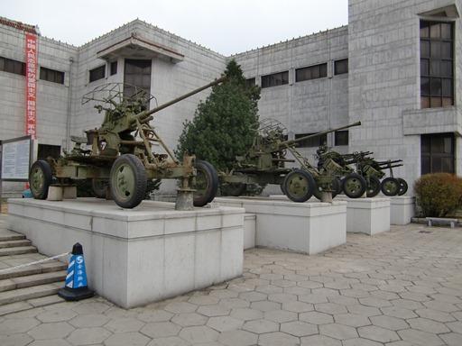 展示されている射撃車.JPG